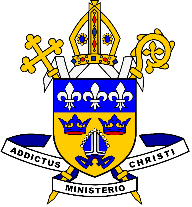 Diocesan Coat of Arms Bishop Alan